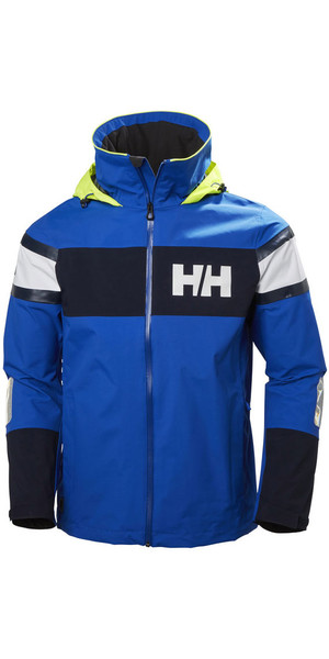 2018 Helly Hansen Salt Flag Jacket Olympian Blue 33909