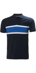 2018 Helly Hansen Camisa Polo Sal Marinha Bandeira 33939