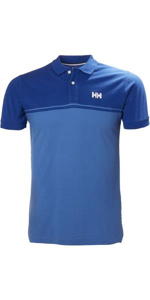 2018 Helly Hansen Camisa Polo Sal Olímpico Azul 33939