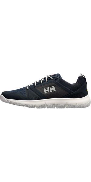 Chaussure de voile hauturier Helly Hansen Skagen F-1 2019 Marine / Graphite Bleu 11312