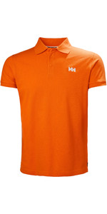 2019 Helly Hansen Transat Poloshirt Blaze Orange 33980