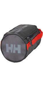 2021 Helly Hansen Wash Bag 2 68007 - Ebony Cherry Tomato