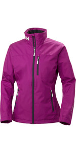 2019 Helly Hansen Womens Mid Layer Crew Jacket Berry 30317
