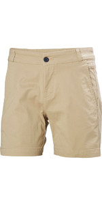 Helly Hansen Womens Crew Shorts Khaki 53047