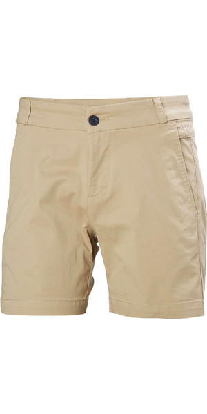 2018 Helly Hansen Womens Crew Shorts Khaki 53047