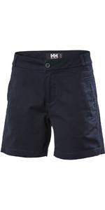 Helly Hansen De Las Mujeres Crew Pantalones Cortos Navy 53047