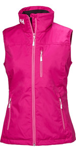 2019 Helly Hansen Gilet Crew Donna Dragon Fruit 30290