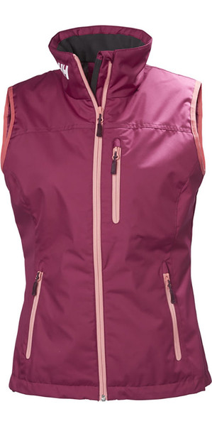 2018 Helly Hansen Womens Crew Vest Plum 30290