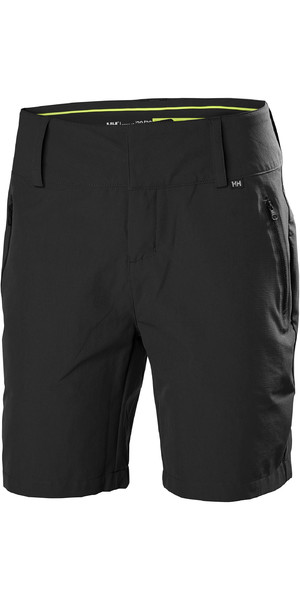 2019 Helly Hansen Womens Crewline Shorts Ebony 33957
