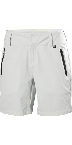 2019 Helly Hansen Womens Crewline Shorts Grey Fog 33957