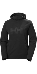 2020 Helly Hansen Damen Daybreaker Logo Hoody 51894 - Schwarz