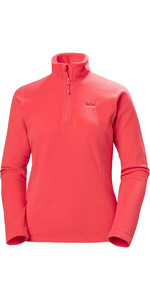 2020 Helly Hansen Kvinders Daybreaker 1/2 Zip Fleece 50.845 - Cayenne