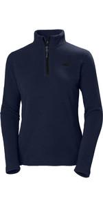 2020 Helly Hansen Womens Daybreaker 1/2 Zip Fleece 50845 - Graphite Blue