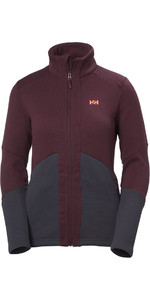Helly Hansen Womens EQ Black Midlayer Chaqueta Puerto 51796