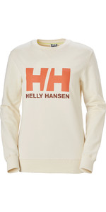 2020 Helly Hansen Frauen Hh Logo Crew Schweiß 34003 - Schnee