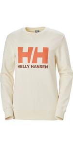 2020 Helly Hansen Dames HH Logo Crew Sweat 34003 - Sneeuw