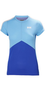 Helly Hansen Dames Lifa Active Light T-shirt Olympian Blauw 48370