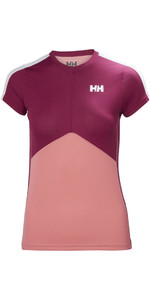 Helly Hansen Dames Lifa Active Light T-shirt Shell Pink 48370