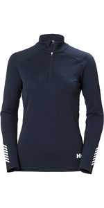 2020 Helly Hansen Frauen Lifa Active 1/2 Zip Top 49392 - Navy