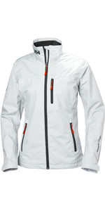 2019 Helly Hansen Womens Mid Layer Crew Jacket White 30317