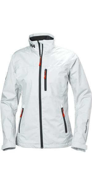 2019 Dames Mid Layer Crew Jacket, wit 30317 van Helly Hansen