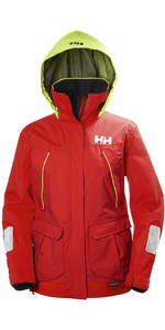 2019 Helly Hansen Kvinders Pier Coastal Jacket Alert Red 33886