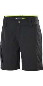 2020 Helly Hansen Womens QD Cargo Shorts Ebony 33942