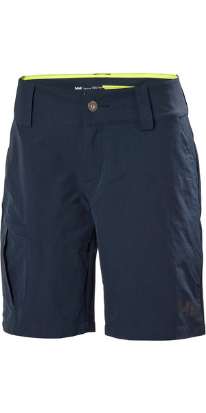 2019 Helly Hansen Womens QD Cargo Shorts Navy 33942