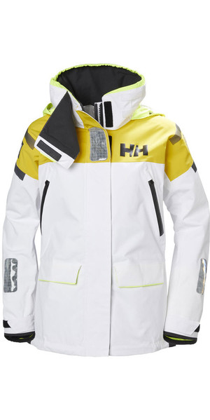 2018 Helly Hansen Womens Skagen Offshore Jacket White 33920