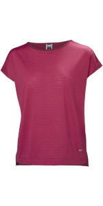 2019 Helly Hansen Frauen Thalia T-shirt Persian Red 53040