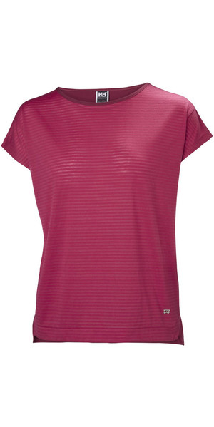 2019 Helly Hansen Damen Thalia T-Shirt Persian Red 53040