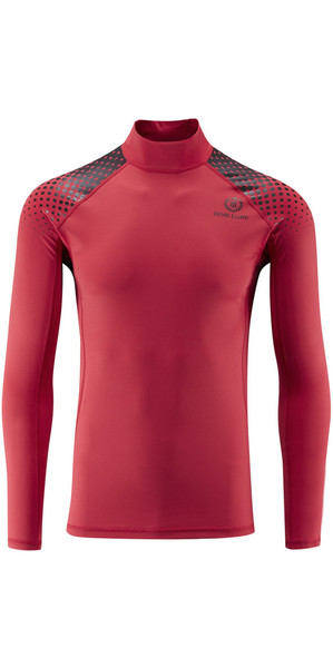 2019 Henri Lloyd New Energy Long Sleeve Rash Vest RED Y30351
