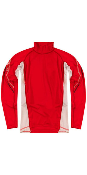 Henri Lloyd Cobra LS Rash Vest Red Y30281