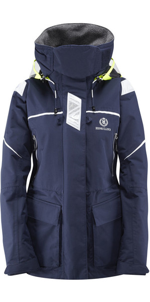 2019 Henri Lloyd Ladies Freedom Offshore Jacket Marine Y00352