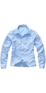 Henri Lloyd Womens Oxford LS Shirt Ice Blue Y35069
