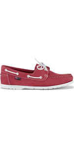Henri Lloyd Womens Shore Deck Shoe Red / White F94425