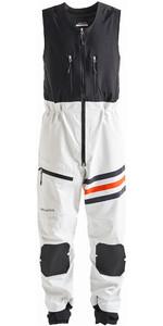 2020 Henri Lloyd Mens Fremantle Stripe Gore-Tex Salopettes Cloud White P191109006