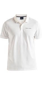 2020 Henri Lloyd Mens Fremantle Stripe Polo Cloud White P191104010
