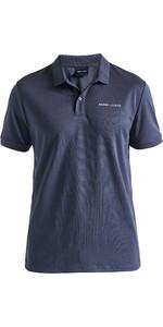 2020 Henri Lloyd Mens Fremantle Stripe Polo Navy Blue P191104010