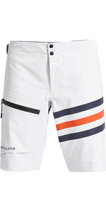2020 Henri Lloyd Mens Fremantle Stripes Gore-Tex Shorts Cloud White P191105007