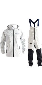 2020 Henri Lloyd Womens M-Course 2.5 Layer Inshore Jacket & Trouser Combi Set - White