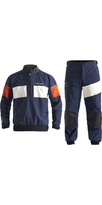 2020 Henri Lloyd Heren M- Pro 3-laags Gore-Tex Combi-set Jas En Broek - Navy