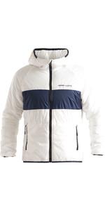 2020 Henri Lloyd Mens Maverick Mid Layer Jacke Mit Kapuze P201110055 Liner - Wolke Weiß