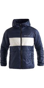 2020 Henri Lloyd Mens Maverick Mid Layer Jacke Mit Kapuze P201110055 Liner - Navy Block