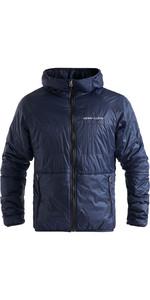2020 Henri Lloyd Mens Maverick Mid Layer Jacke Mit Kapuze P201110055 Liner - Navy