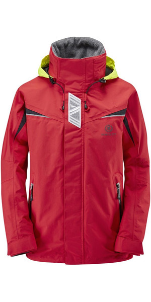 2018 Henri Lloyd Wave Inshore Coastal Jacket New Red Y00353