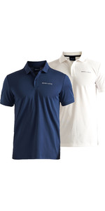 2020 Henri Lloyd Mens MAV Tech Polo Shirt Twin Pack Bundle