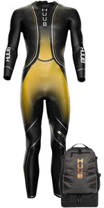 2021 Huub Brownlee Agilis Triatlón Traje + Hombres Tt Bolsa Fre35g - Oro