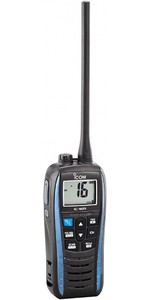 2020 Icom M25 étanche VHF Radio Bleu VHF0161
