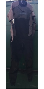 Gul Contour Convertible Mens 3/2mm Wetsuit in BLACK / GREY - 2ND
